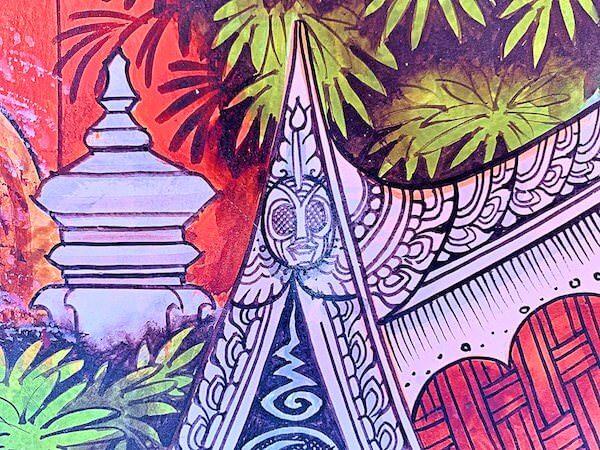 ドラえもん寺の壁画に隠れている仮面ライダー