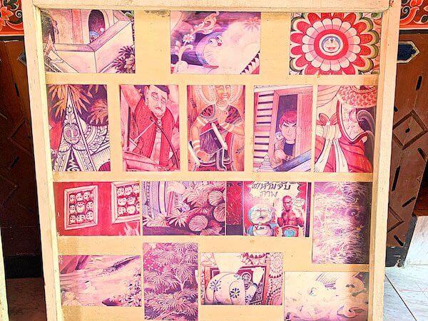 ドラえもん寺の壁画に描かれているドラえもんの場所ヒント
