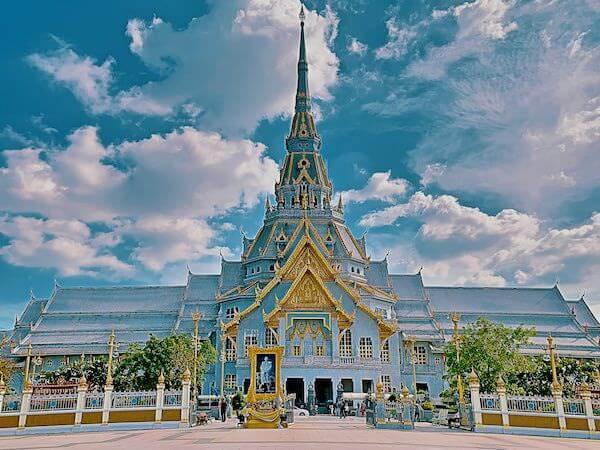 ワット ソートーン ウォラウィハーン(Wat Sothon Wararam Worawihan)の外観