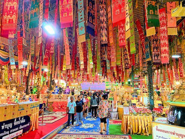 ワット ターカーローン(Wat Tha Ka Rong)の境内1