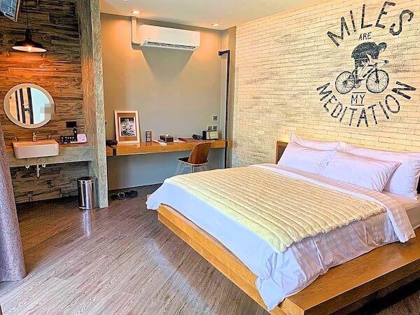 ウィーラー ベッド アンド バイク ホテル(Wheeler Bed and Bike Hotel)の客室ベッドルーム1