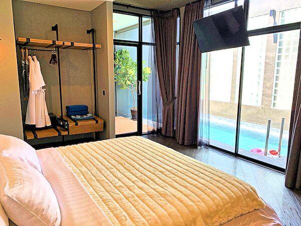 ウィーラー ベッド アンド バイク ホテル(Wheeler Bed and Bike Hotel)の客室ベッドルーム2