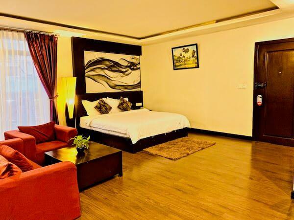 シン ラン シン ホテル(Xin Lan Xin Hotel)の客室1