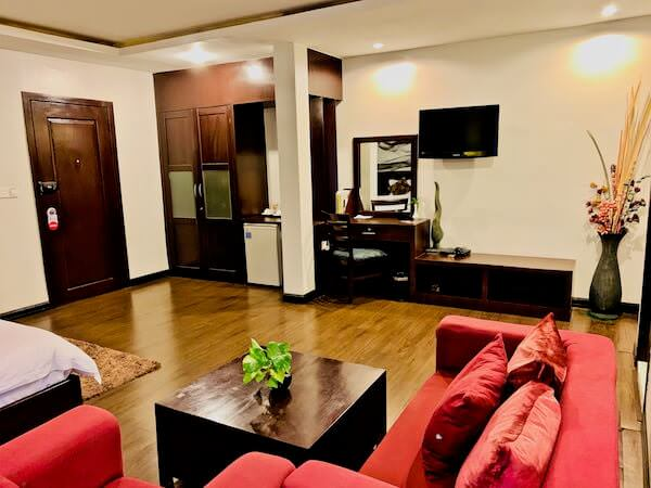 シン ラン シン ホテル(Xin Lan Xin Hotel)の客室2