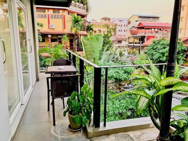シン ラン シン ホテル(Xin Lan Xin Hotel)のバルコニー