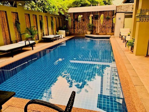 シン ラン シン ホテル(Xin Lan Xin Hotel)のプール